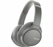 SONY WH-CH700N Wireless Bluetooth Noise-Cancelling Headphones - Grey - Currys