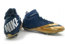 New listing Nike Superbad Pro Lunarlon Football cleats. Blue and Gold - size 16