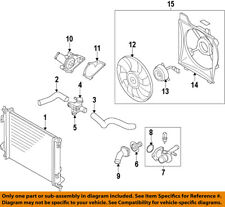 KIA OEM 14-15 Forte Radiator Engine Coolant-Filler Neck 253293X600