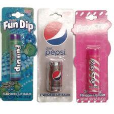 Lot of 3 lip balm Apple, strawberry, diet Pepsi
