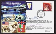 SIGNED LIMITED ED COVER BRIG WINGATE GRAY BLACK WATCH MILITARY CROSS SICILY