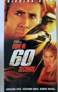 Gone in 60 Seconds (VHS, 2000)