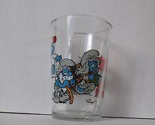 Verre à moutarde glass SCHTROUMPF Puffi Smurf Peyo 1991. VM1187