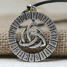 NORSE VIKING Rune Pendant Talisman Necklace