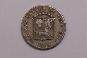 VENEZUELA 12 1/2 CENTIMOS 1946 B32 #K3876