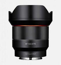 Objetivos f/2, 8 14mm para cámaras