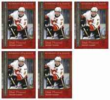 (5) 2008-09 Upper Deck Biography of a Season #BS22 Dion Phaneuf Lot Flames