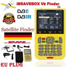 V8 Finder Satellitenschüssel Satellite Meter Kit Sat Finder FTA DVB-S2 Media DHL