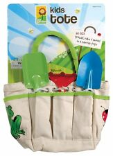 Kids' garden tote with hand tools 3pcs set plus tote by toysmith