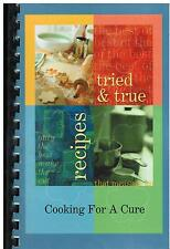 *BLUE GRASS IA 2009 *COOKING FOR A CURE COOK BOOK *FRIENDS OF HEATHER KROGMAN