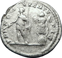 GETA 202AD Rome Silver Genuine Authentic Ancient Roman Coin Trophy i70217