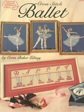 Cross Stitch Ballet Book by Conn Baker Gibney American School of Needlework 3604