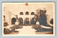 RPPC - Coronado CA, 1st Church of Christ Scientist, Vintage California Postcard