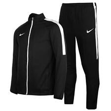 Nike Academy Woven Warm Up Tracksuit Jacket Bottoms Black Track Mens XXL 2XL NEW