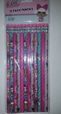 LOL Surprise Doll Pack of 12 #2 Pencils Series 1  Party Favor SCHOOL SUPPLIES
