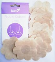 5 Pairs Stick On Nipple Daisies Modesty Breast Cover Strapless Backles Concealer