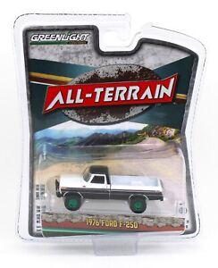 1:64 GreenLight *ALL-TERRAIN 11* GREEN MACHINE 1976 Ford F-250 4x4 Pickup *NIP*