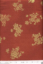 Cantonese Red Floral - NEW Quilt Fabric - 5/8 Yard Piece