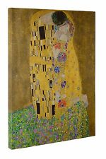 The Kiss Gustav Klimt Canvas Wall Art Print Picture Size 20x30 inches New UK