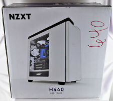 NZXT H440 Computer Case Black and Red