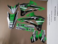 FLU DESIGNS PTS3 TEAM KAWASAKI GRAPHICS  KX85  KX100  20014-2017