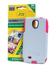 Otterbox Commuter case w/ HI-RES screen protector Samsung Galaxy S4 Wild Orchid