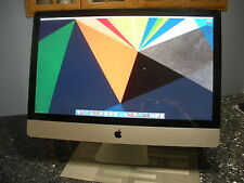 "Apple iMac A1312 27"" Desktop, Intel i7 2.8GHZ, 8GB Memory, 1TB HD, DVD-WR"