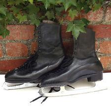 Stuburette vintage ice skating boots Mens size 11 Coronation Ace 1950s Wilson