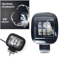 72W High LED Work Light Lamp 12V 24V Car Boat Truck Driving Square Fog Lighting