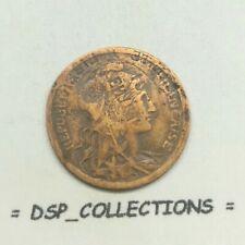 FAUTEE, frappe incuse, error essai, RARE 2 centimes 1911 DUPUIS // 834M01