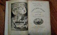 1870 Jules Verne Children of Captain Grant ~ in French  Hetzel Edition Gilted