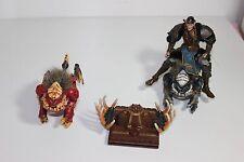 """lot Mega Bloks Krystal Wars Drgaon Creatures Claw Rare 7""""  tall Warrior figure"""