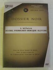 DVD DOSSIER NOIR - L'AFFAIRE MICHEL FOURNIRET / MONIQUE OLIVIER