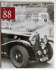 BROOKS CLASSIC CAR AUCTION CATALOGUE: Classic Motor Cars, Motorcycles & Automobi