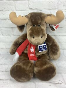 "21"" Moose Plush Impressions Canada Quebec Stuffed Animal"