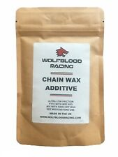 WBR PTFE+WS2 Cycle Chain Low Friction Wax Additive 60g powder (add to hot wax)
