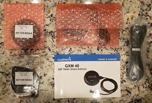 Brand New Garmin GXM40 XM Satellite Radio / Weather Antenna with Mounts & Cable.