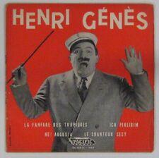 Henri Genès 45 tours La fanfare des Tropiques 1957