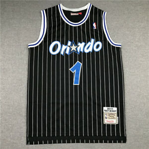 1# Tracy McGrady Orlando Magic 2003-04 Classics Men's Swingman Jersey Black