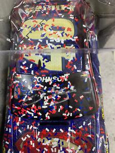 Autographed Jimmie Johnson #48 HMS Lowe's Superman Fontana Win 2016 Chevy 1/24