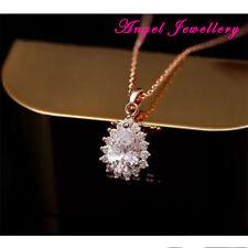 Pear Beauty CZ Costume Necklaces & Pendants