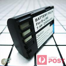D-LI90 LI90(E) LI90E LI90P Battery for Pentax K01 K1 K3 II K5 IIs 2 2s K7 645DIR