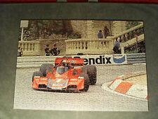 John Watson in Martini Brabham at Monaco Grand Prix - Jigsaw Puzzle.