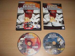 Star Wars GALACTIC BATTLEGROUNDS SAGA Pc Inc Base Game + CLONE CAMPAIGNS Add-On