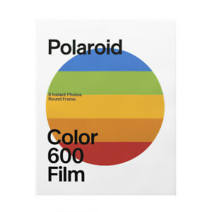 Polaroid Color Film for 600 - Round Frame 8 Sheets