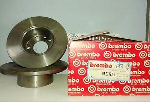 BMW E12 520 528 BREMBO FRONT BRAKE DISCS