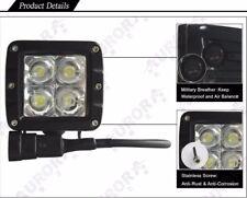 Pair of Aurora 2 Inch LED Working Light Bar/Cube Off Road Spot 20W 2200 Lumens