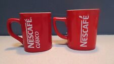 2. Vintage Nescafe Coffee Mugs