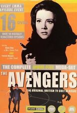 The Complete Emma Peel Mega-Set The Avengers  (DVD, 2001 16-Disc Set)  VERY RARE
