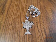 "ICP ""The Wraith of Shangri-La"" Stainless Steel pendant w/30 inch ball chain"